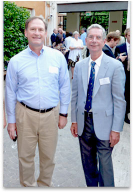 Center Director Craig Smith with Supreme Court Justice Samuel Alito.